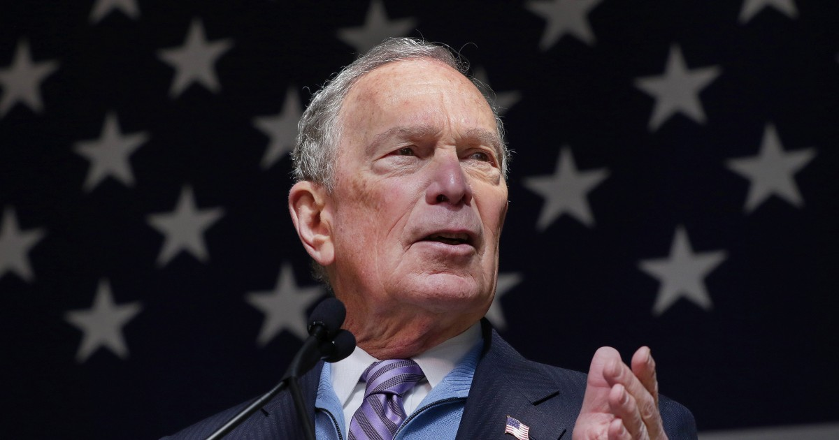 Bloomberg says he will run 'right to the bitter end' if nomination not locked up thumbnail