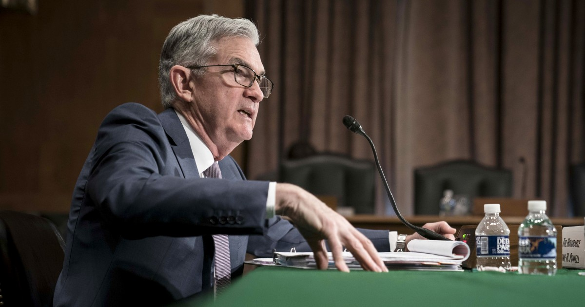 Fed Chair Jerome Powell says coronavirus presents 'evolving risks' to the U.S. economy