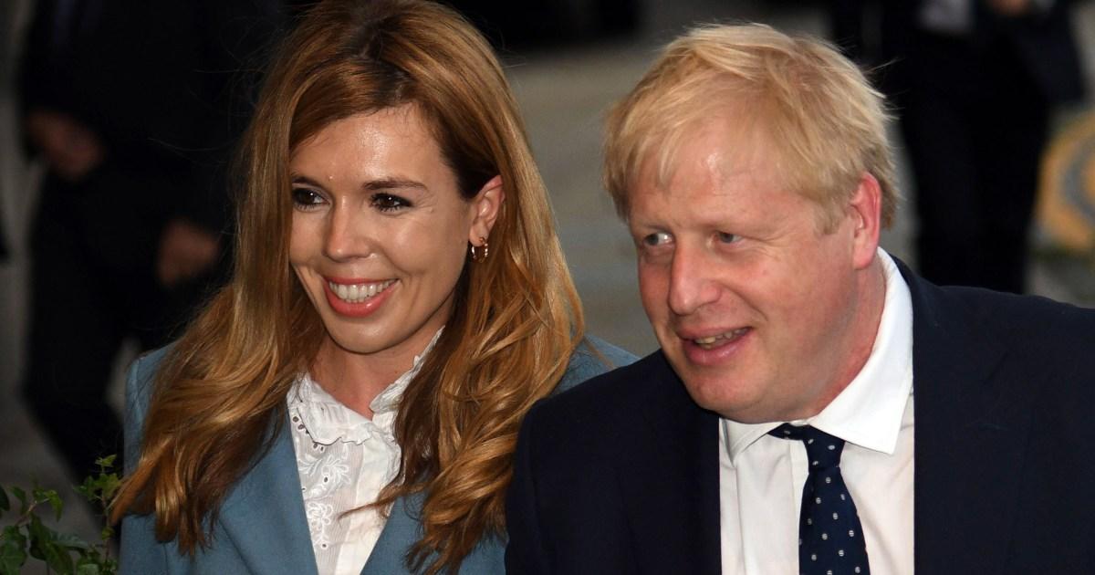 Boris Johnson, pasangan ini mengumumkan bahwa mereka mengharapkan anak dan terlibat