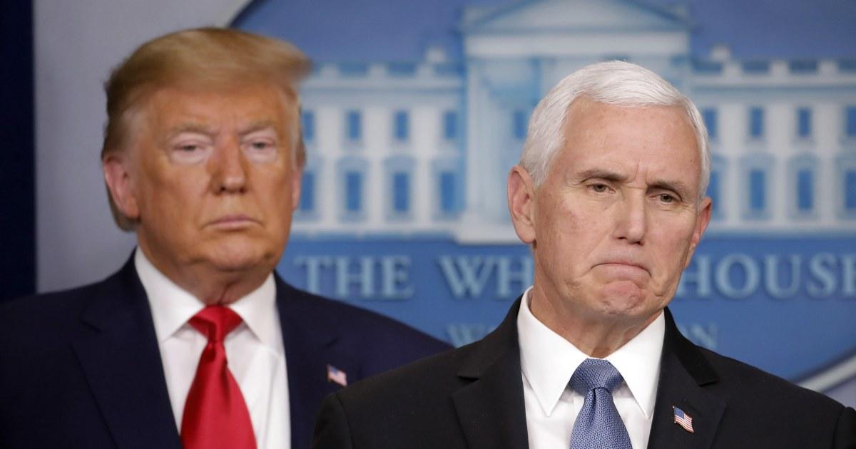Trump mengumumkan baru pembatasan perjalanan setelah tanggal 1 AS coronavirus kematian