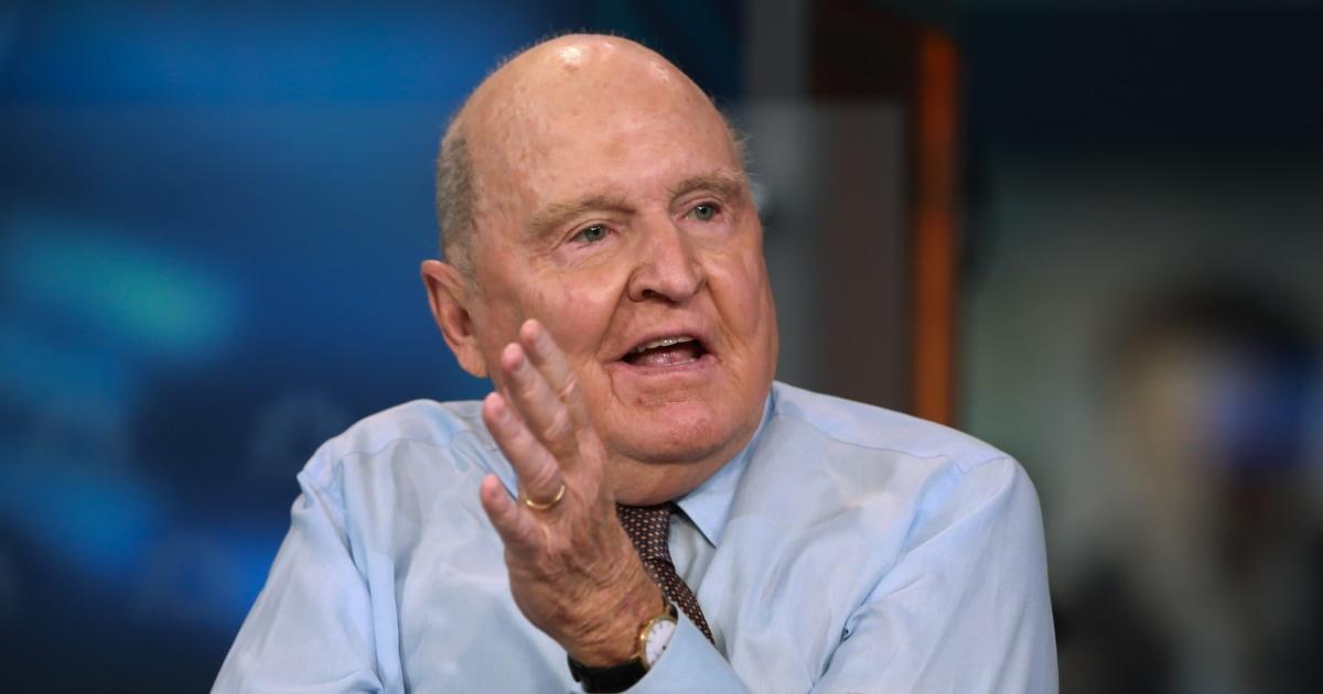 Jack Welch, πρώην πρόεδρος και ΔΙΕΥΘΎΝΩΝ σύμβουλος της General Electric, πεθαίνει στο 84
