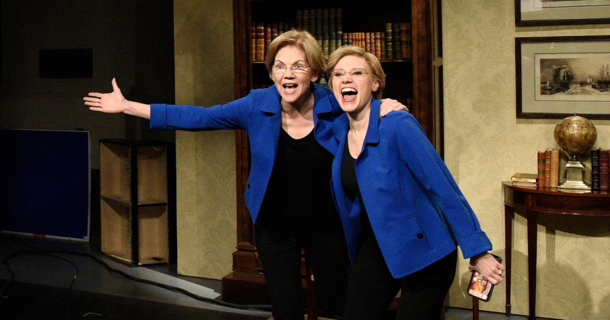 Elizabeth Warren rebounds auf 'SNL' nach dem löschen von bid-Präsident
