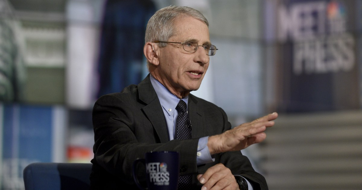 Fauci: Those 'vulnerable' to coronavirus should limit travel and crowd exposure thumbnail
