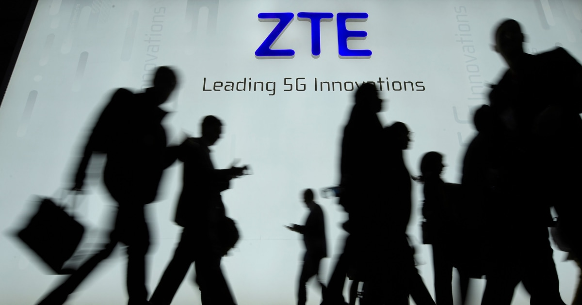 The U.S. is now investigating Chinese telecom giant ZTE for alleged bribery