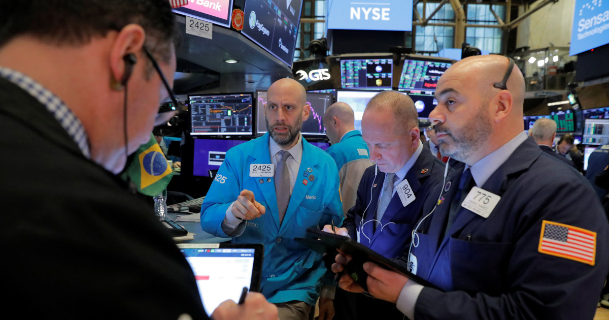 Stock markets rally, with Dow surging 1,000 points at closing bell