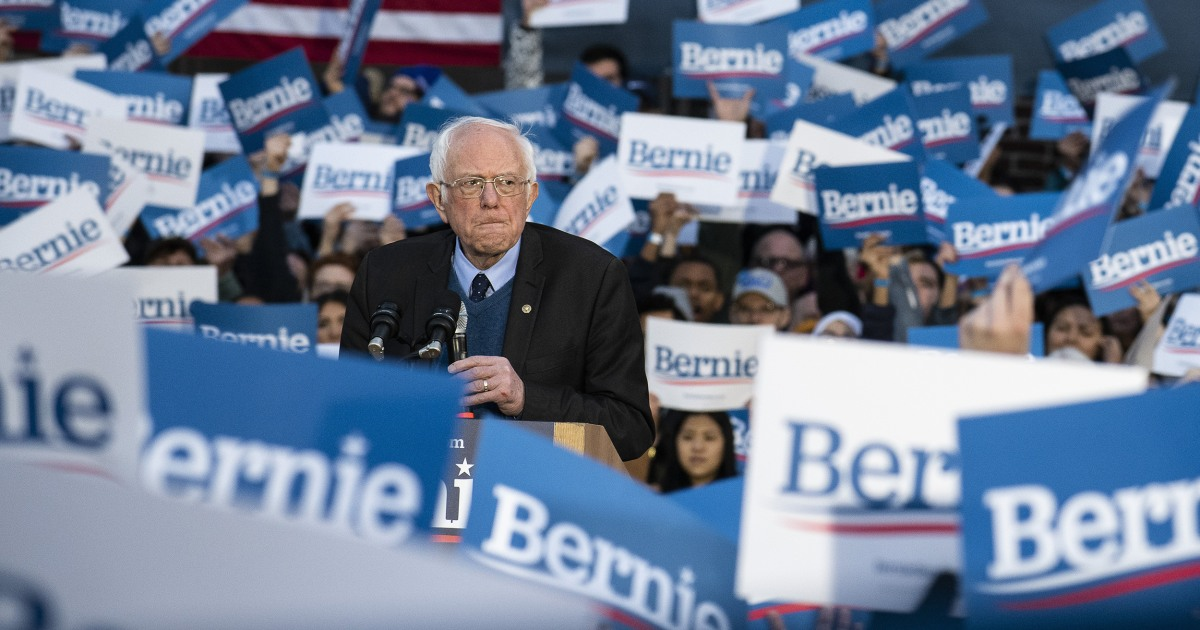 Sanders staying in race, calls on Biden to address key progressive issues