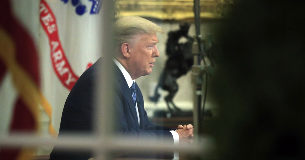 Amidst crises, there's a bystander in the Oval Office