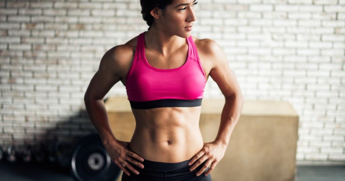Eine 30-Tage-Bauch-workout straffen Sie Ihre Kern