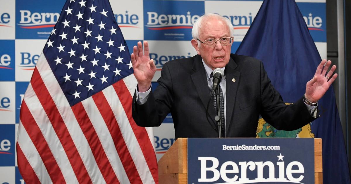 Sanders gewinnt Nord-Mariana Inseln fraktionssitzungen, NBC News Projekte