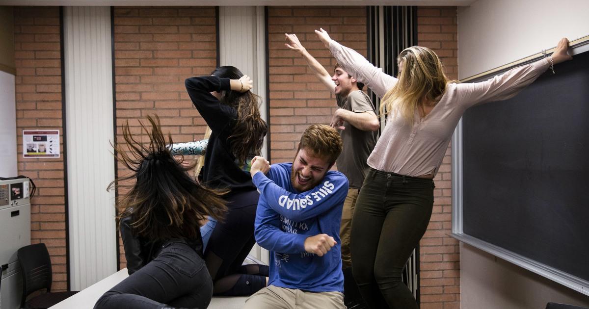 大きな'グラムキャンパス:南カリフォルニア、学生は電車なスキル