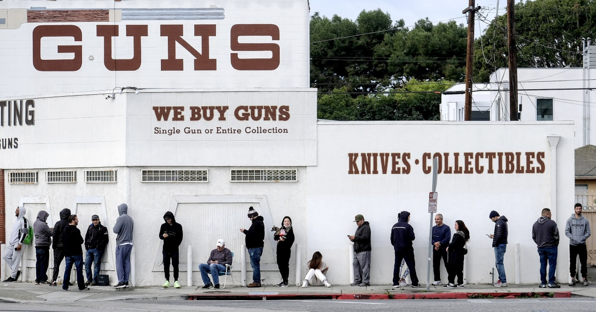 Gun sales rise as coronavirus fears trigger personal safety concerns