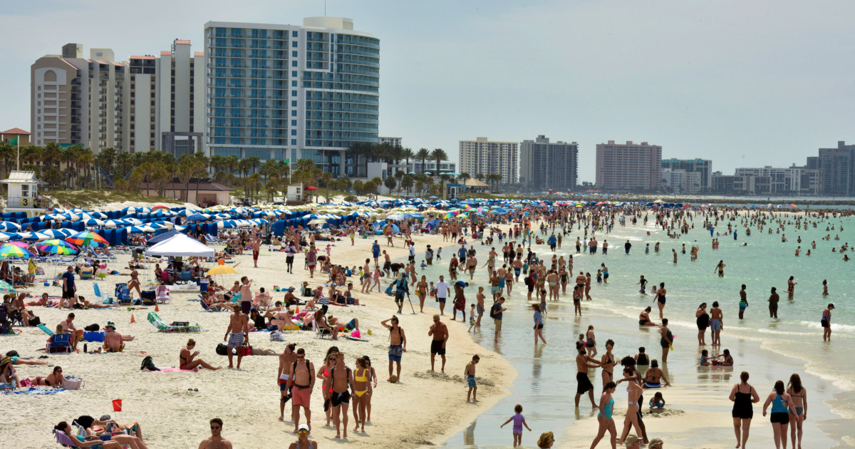 Der Gouverneur von Florida, weigert sich heruntergefahren Strände inmitten einer Ausbreitung des coronavirus
