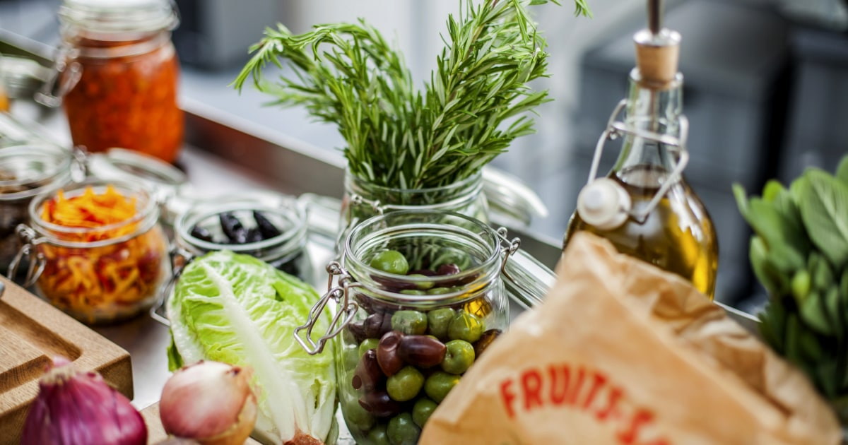 meals in line with the mediterranean diet principles