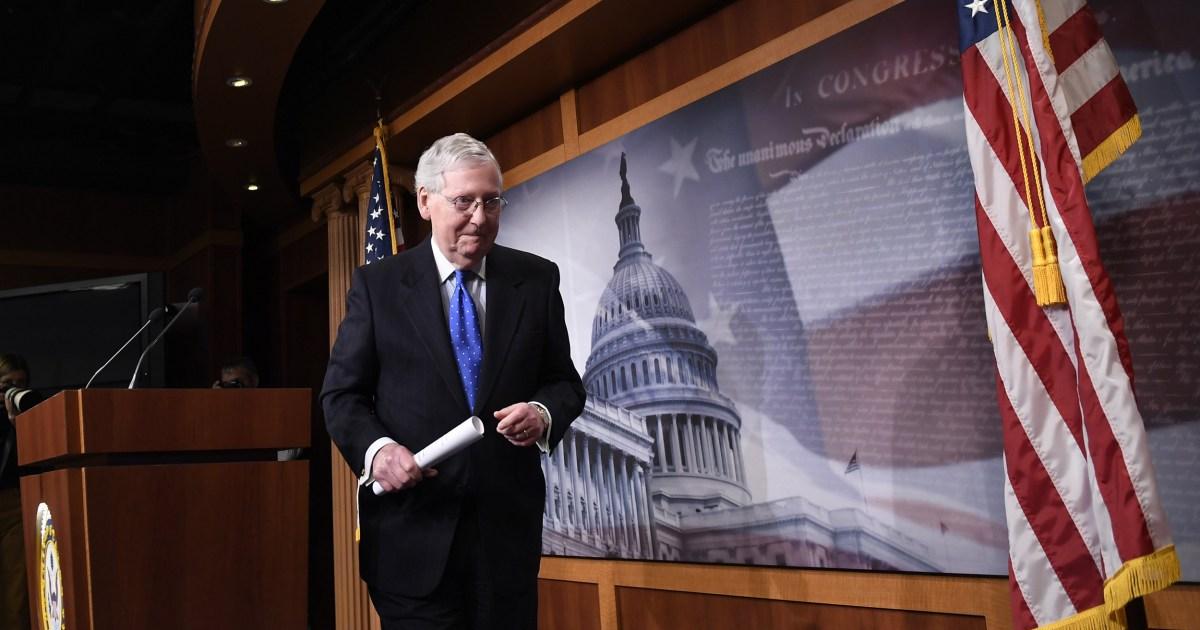 Senat plant Abstimmung über Haus coronavirus bill Mittwoch
