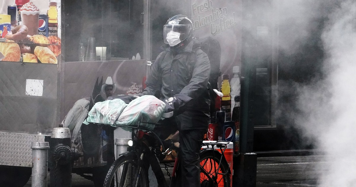 Food delivery workers are coronavirus first responders — here's how you can repay us