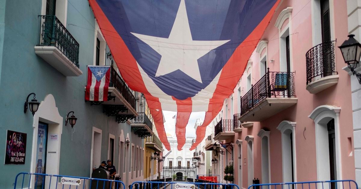 Puerto Ricaner sind wachsam wie coronavirus Antwort, hurricane recovery Zusammenfallen
