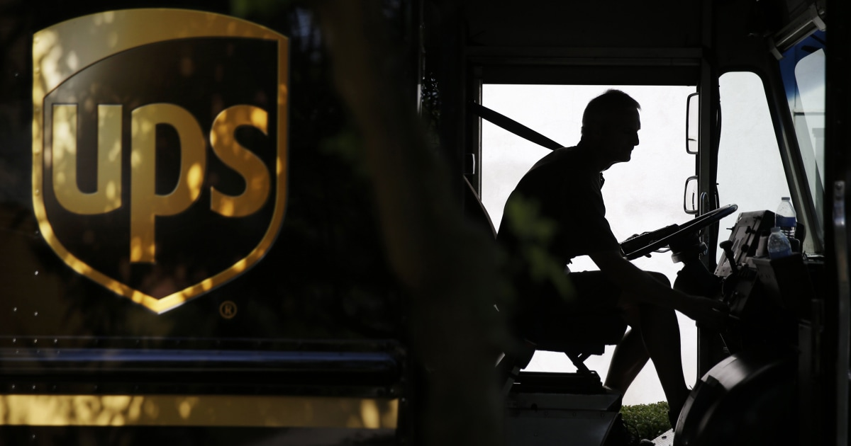 As deliveries soar, UPS drivers say company's coronavirus precautions may not keep them or customers safe