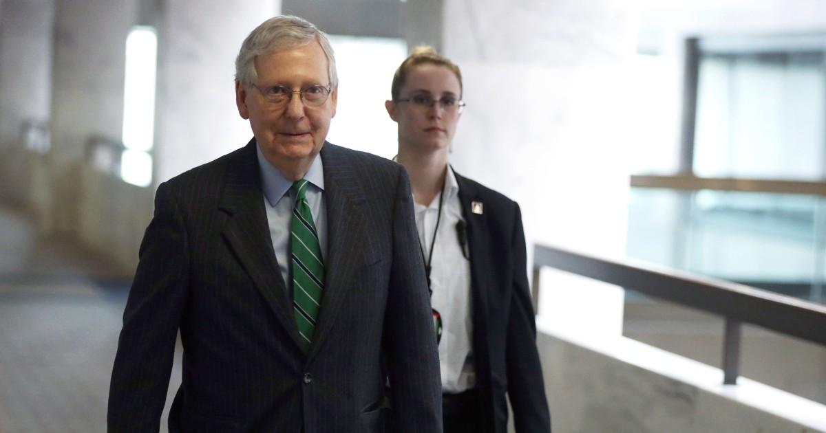 Sehen Sie, wer wäre berechtigt, für die Corona-Virus prüft, unter Senat GOP-plan