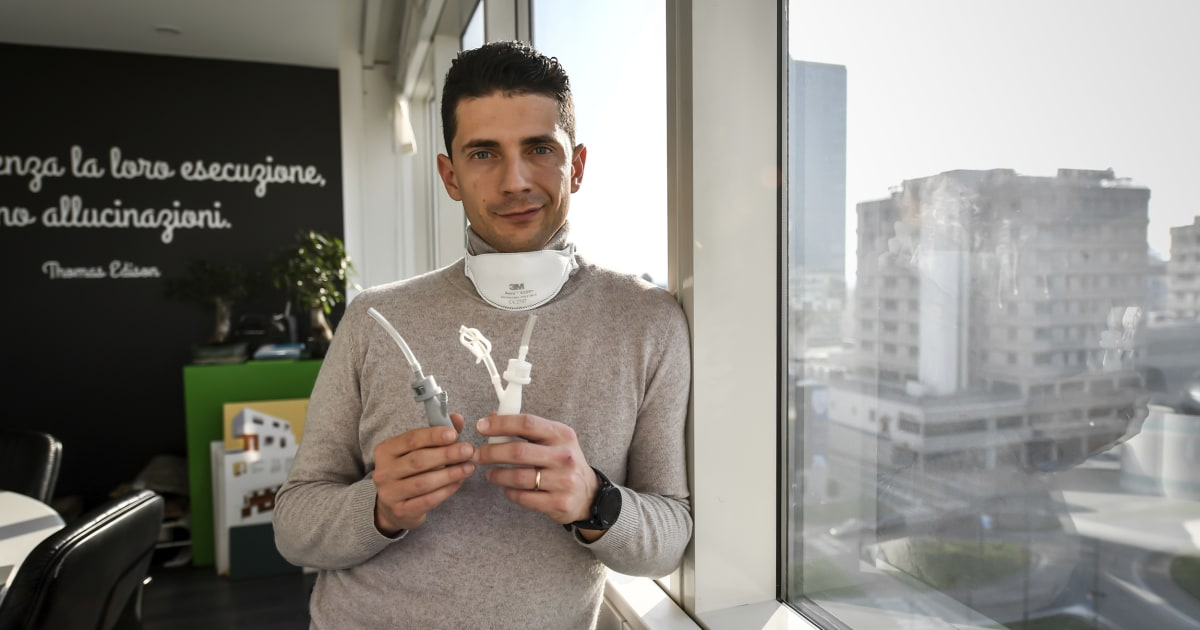 'A worldwide hackathon': Hospitals turn to crowdsourcing and 3D printing amid equipment shortages