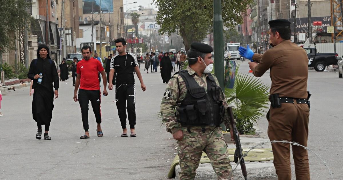 Χιλιάδες αψηφούν Ιράκ coronavirus απαγόρευση της κυκλοφορίας για να επισκεφτείτε το μαρτύρησε ο ιμάμης είναι ιερό