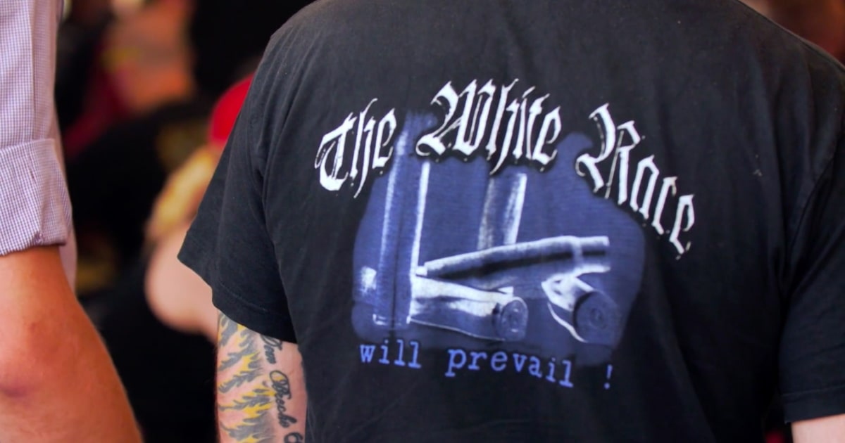 Neo-Nazis aus den USA und Europa bauen, weit-rechts-links bei den Konzerten in Deutschland