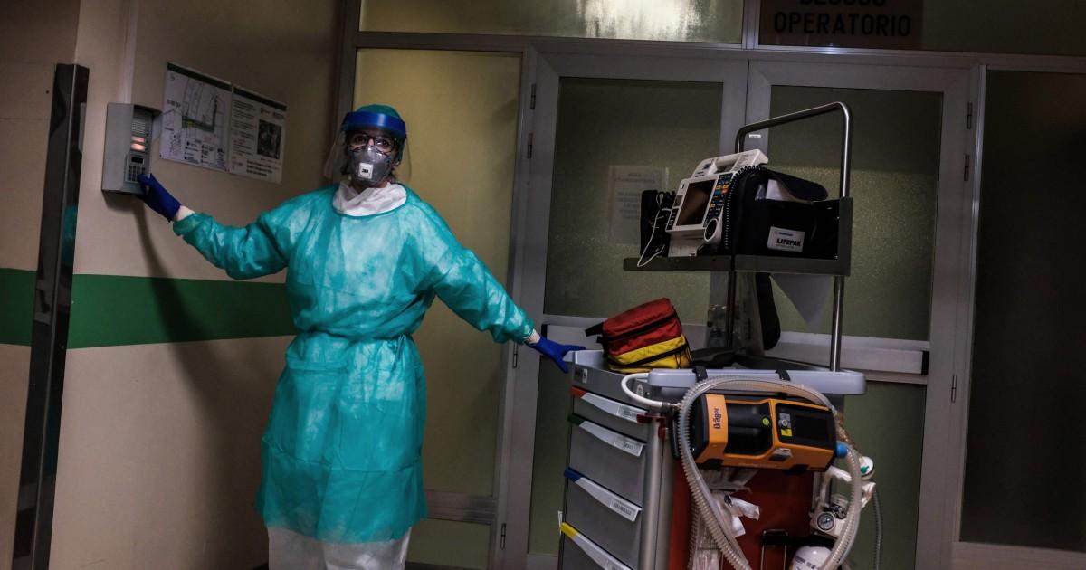 Handeln Sie jetzt, italienischer Arzt im Epizentrum des Ausbruchs, warnt die Welt