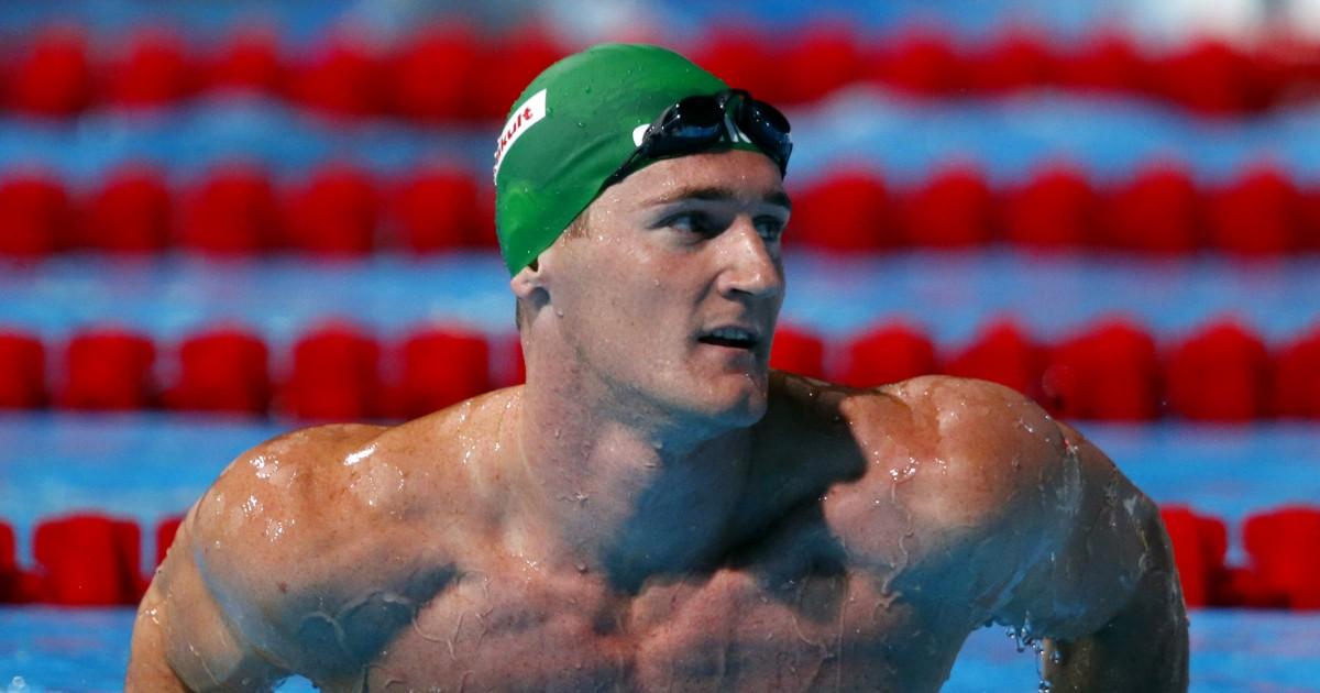 Χρυσό ολυμπιακό μετάλλιο κολυμβητής Cameron van der Burgh μάχεται coronavirus