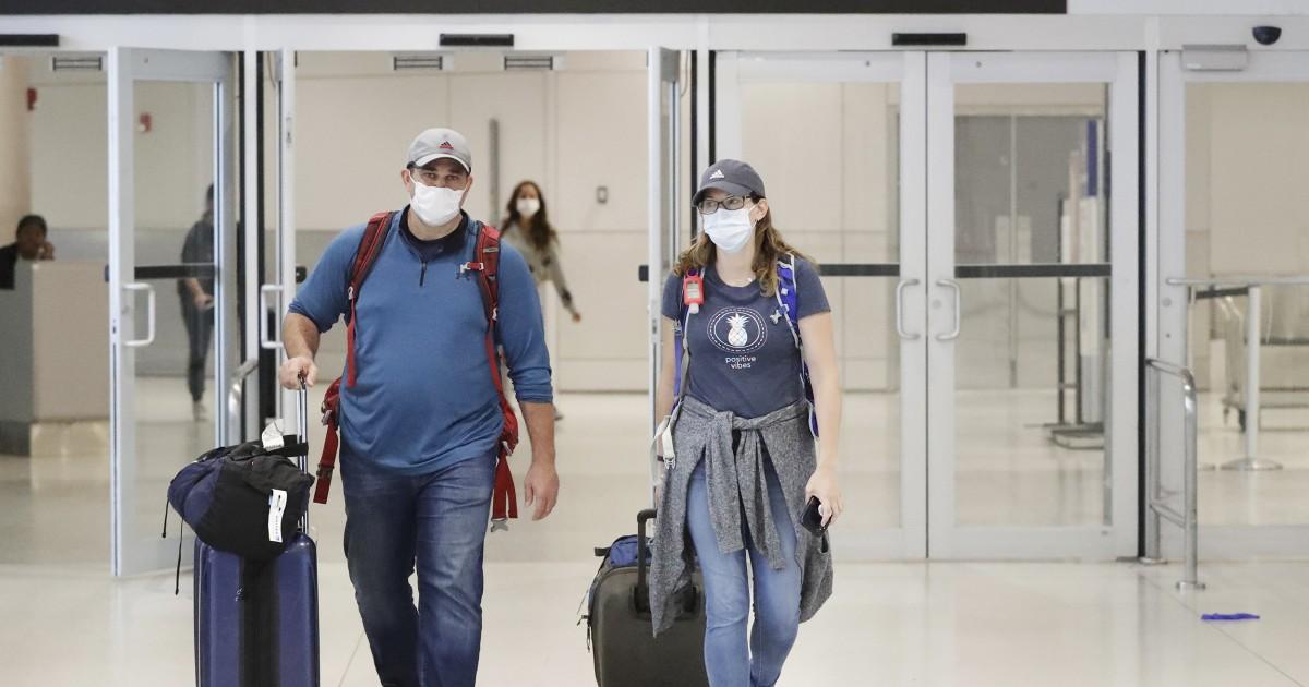 Χιλιάδες Αμερικανοί λανθάνον στο εξωτερικό κατά τη διάρκεια coronavirus πανδημία