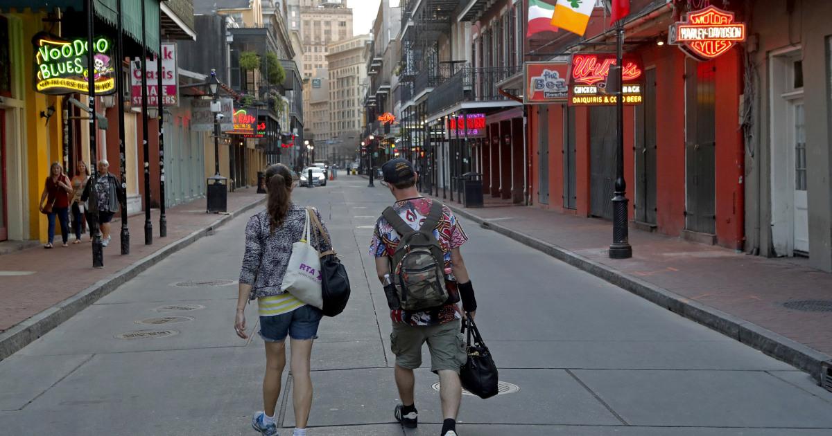 New Orleans ist ein Epizentrum des coronavirus. Mardi Gras könnte Schuld sein, ärzte sagen,.