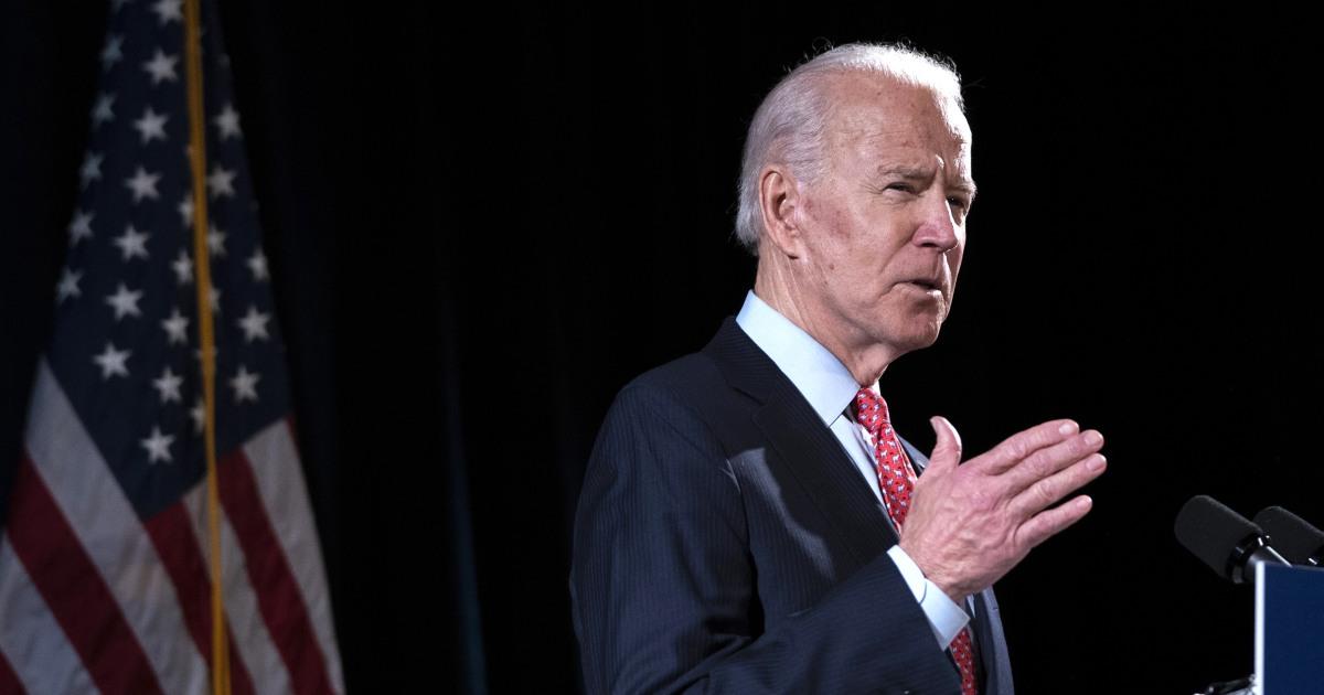 Noch Puffern? Biden arbeitet, um steigern die Sichtbarkeit als nation konfrontiert Pandemie