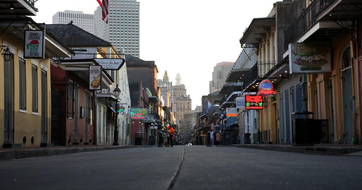 Warum New Orleans ist schnell zu einem coronavirus Epizentrum in den USA