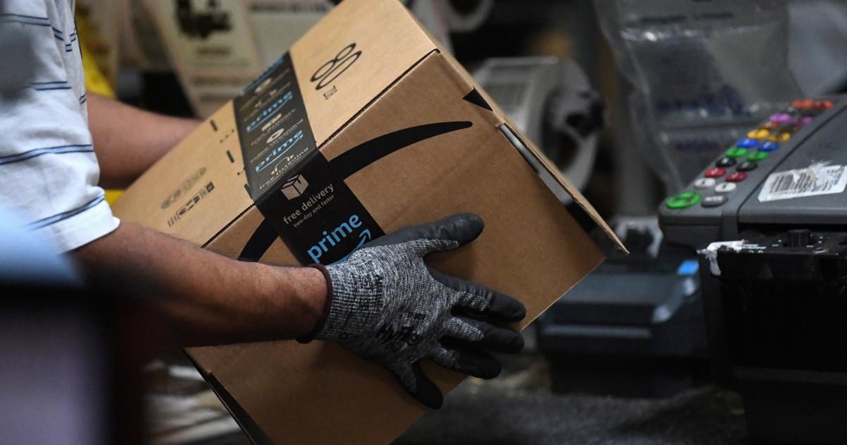 Amazon倉庫労働者詳細安全性の欠点中coronavirus発生