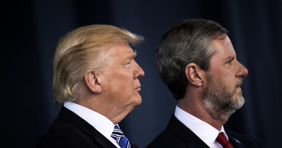 Wie Trump Loyalisten wie Jerry Falwell Kraftstoff ein gefährlich politisiert Pandemie
