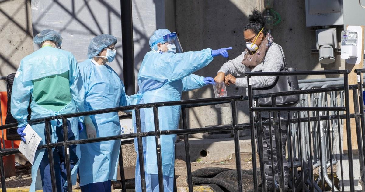 U.S. leads coronavirus cases as global total surpasses half-million
