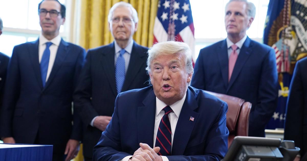 Trump ruft Defense Production Act zu zwingen, GM zu machen Ventilatoren für coronavirus-Kampf