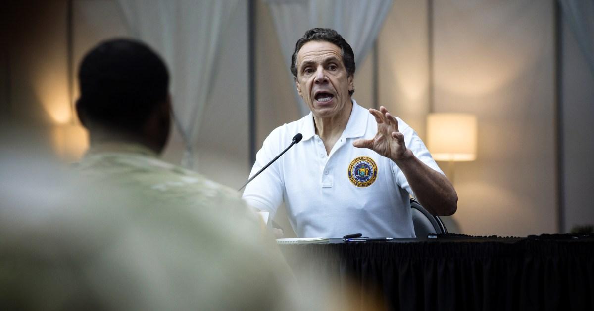 Einige Gouverneure haben sich verstärkt, während coronavirus Krise, andere nicht so sehr