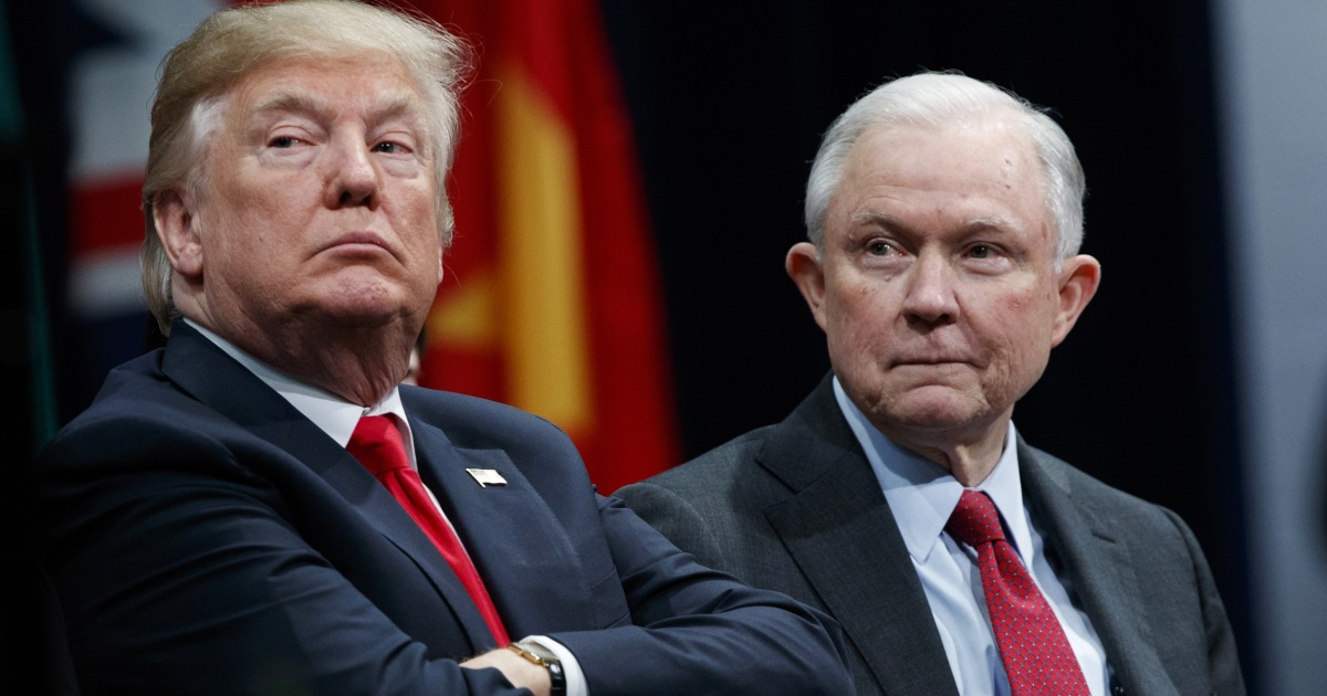In broadside against Jeff Sessions, Trump says more than he should have