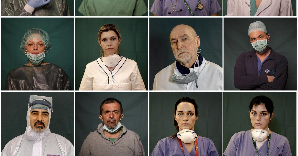 Ιατρική εργαζομένων στην Ισπανία και την Ιταλία