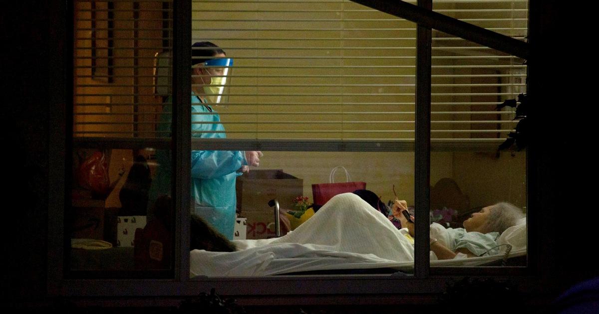 Pflegeheime hart von coronavirus; eine Maryland-Heimat-Berichte 66 Fälle
