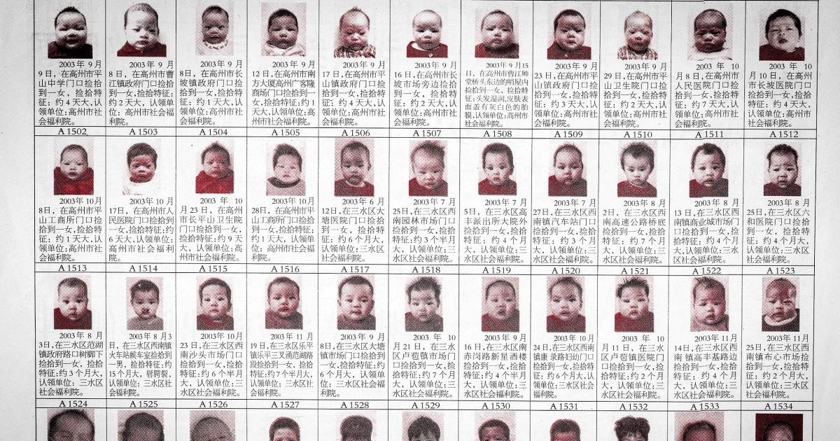 Im Anschluss chinesischen adoptierten waren, um die Geburt Familien -, paar-macht-discovery über Chinas ein-Kind-Politik