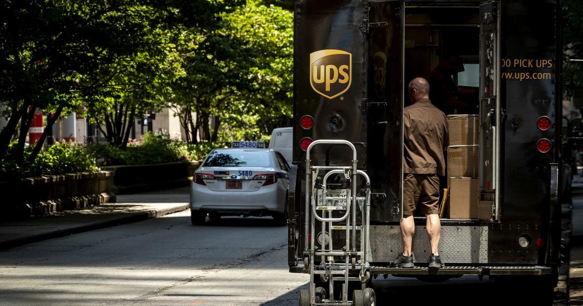 Union sagt 3 UPS-Mitarbeiter die positive test für COVID-19 an der gleichen Anlage Massachusetts