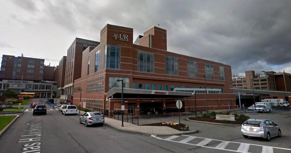 Mann in New York ausgesetzt coronavirus versteckte Symptome zu besuchen, die Frau im Krankenhaus