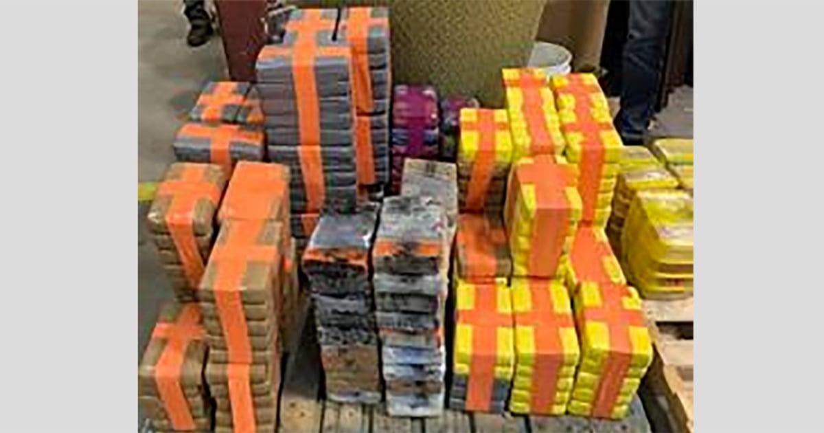 Hampir setengah mil terowongan diisi dengan lebih dari 4.000 kilogram obat-obatan yang ditemukan di dekat San Diego