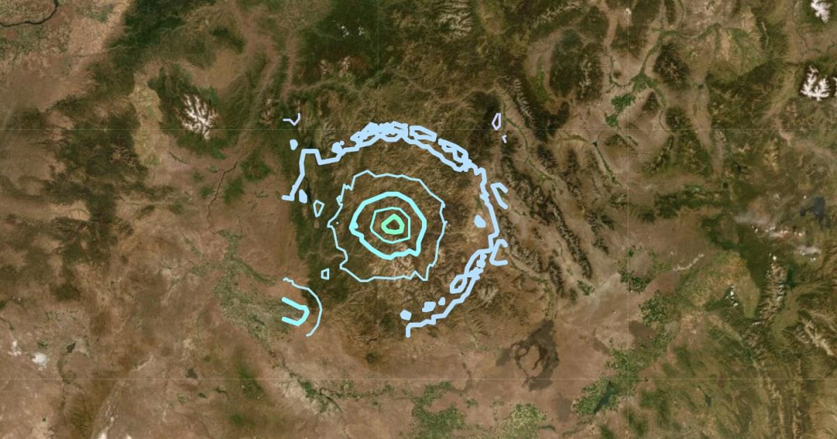 地震rattles遠隔地のアイダホ