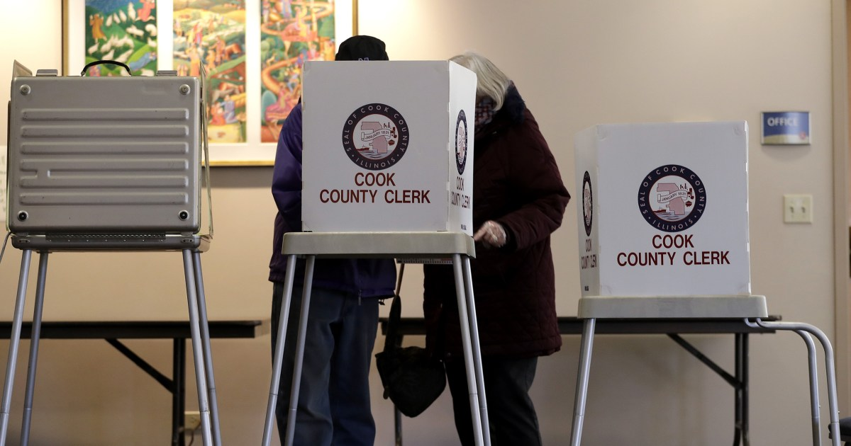 Pemilu chaos: Coronavirus takut voting bisa menjaga orang-orang dari jajak pendapat