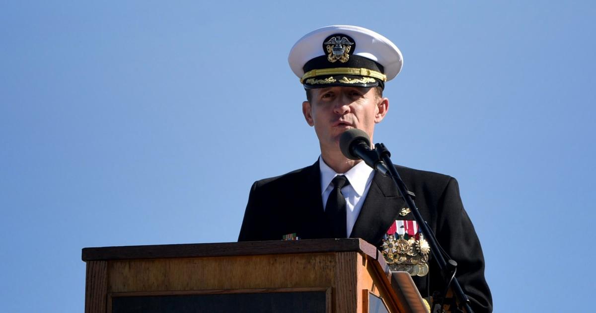 Marine entlastet Kapitän der coronavirus-infizierte USS Theodore Roosevelt nach, er Klang alarm