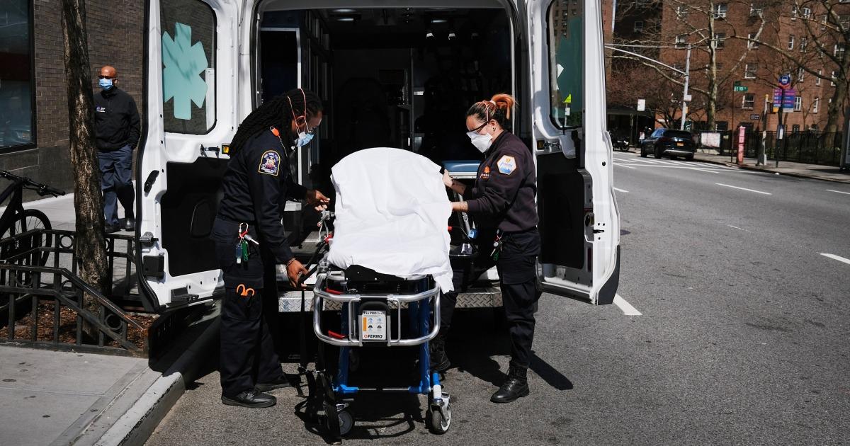 NYC responden pertama belum pulih dari 'belum pernah terjadi sebelumnya' panggilan di tengah coronavirus