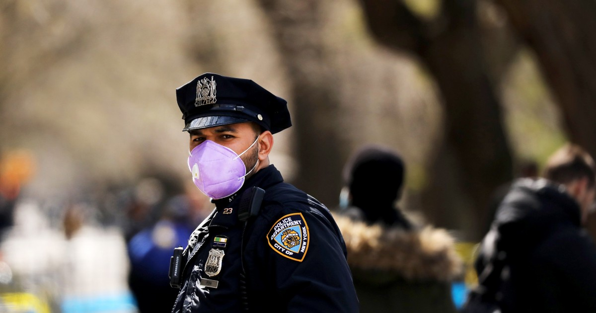 Police get creative to stay safe and keep order as coronavirus spreads