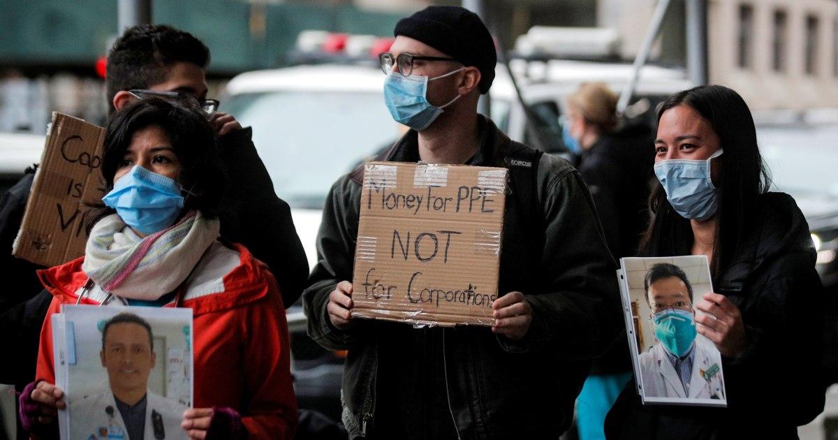 Staf di NYC rumah sakit di mana perawat meninggal akhirnya akan mendapatkan coronavirus tes