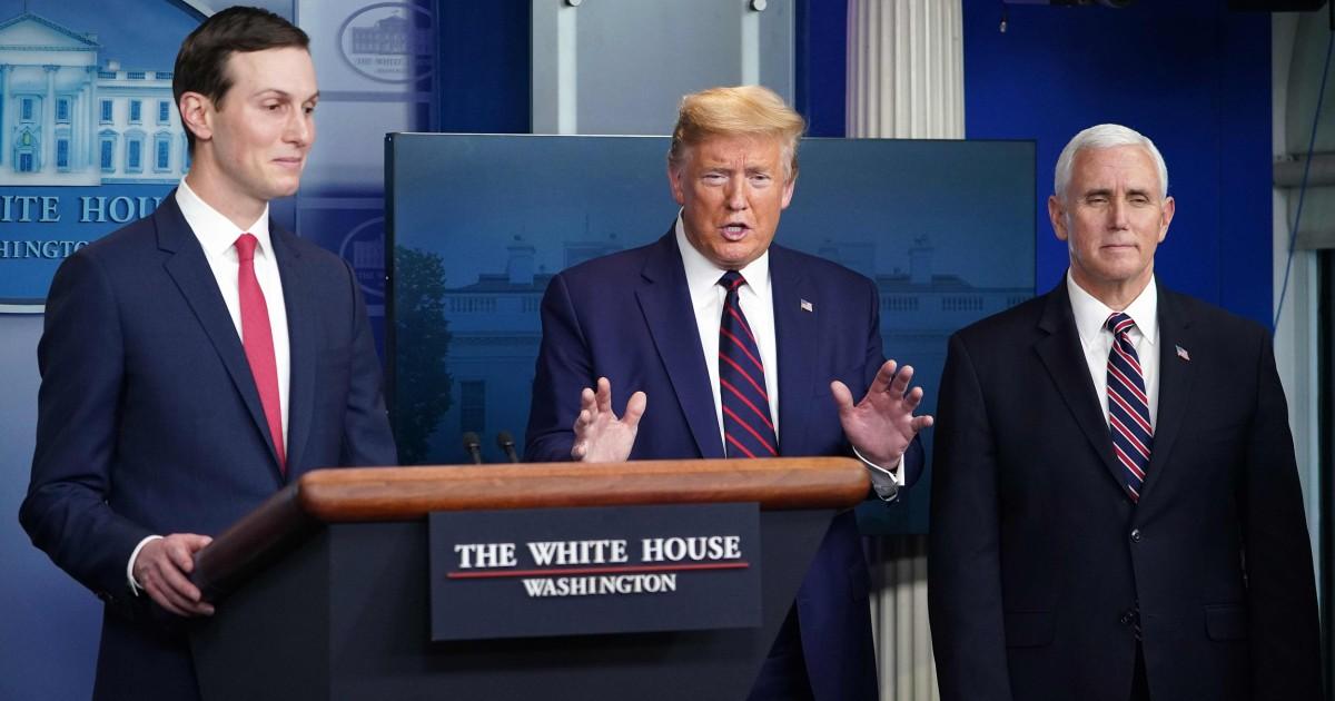 Dua bulan, Trump coronavirus respon menciptakan lebih banyak kekacauan